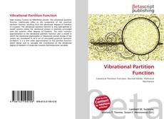 Bookcover of Vibrational Partition Function