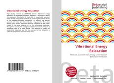 Vibrational Energy Relaxation kitap kapağı