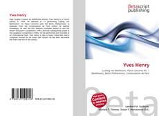 Обложка Yves Henry