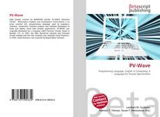 PV-Wave kitap kapağı