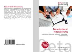 Couverture de Back-to-back-Finanzierung