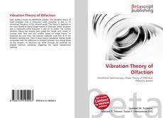 Обложка Vibration Theory of Olfaction