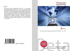 Bookcover of R++