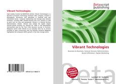 Bookcover of Vibrant Technologies
