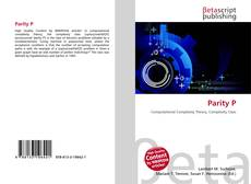 Bookcover of Parity P