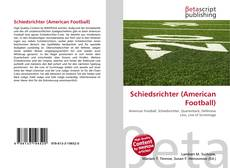 Bookcover of Schiedsrichter (American Football)