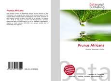Prunus Africana kitap kapağı