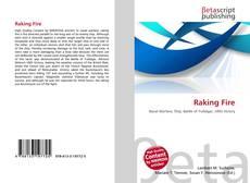 Capa do livro de Raking Fire