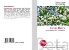 Buchcover von Korean Cherry