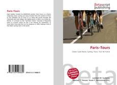 Paris–Tours kitap kapağı
