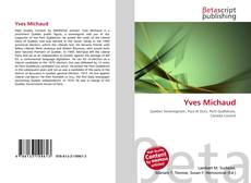 Bookcover of Yves Michaud