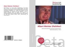 Portada del libro de Albert Meister (Politiker)
