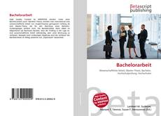 Bookcover of Bachelorarbeit