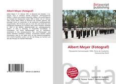 Bookcover of Albert Meyer (Fotograf)