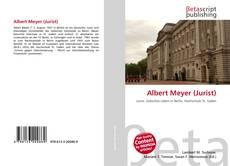 Portada del libro de Albert Meyer (Jurist)