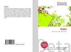 Capa do livro de Rakke