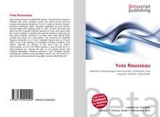 Yves Rousseau kitap kapağı