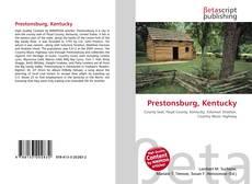 Portada del libro de Prestonsburg, Kentucky