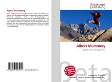 Bookcover of Albert Mummery
