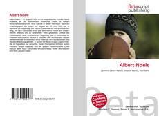 Buchcover von Albert Ndele