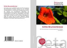 Buchcover von Echte Brunnenkresse