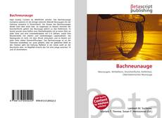 Bookcover of Bachneunauge