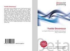 Yvette Devereaux kitap kapağı