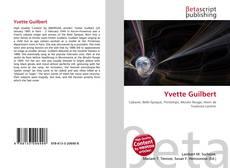Bookcover of Yvette Guilbert