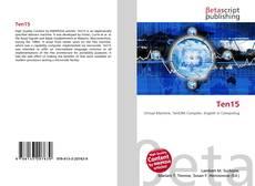 Bookcover of Ten15