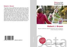 Portada del libro de Robert J. Brown