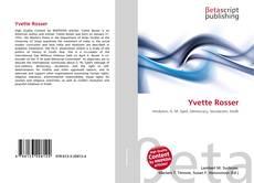 Yvette Rosser kitap kapağı