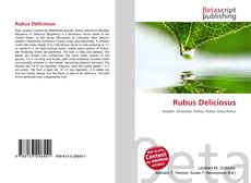 Capa do livro de Rubus Deliciosus