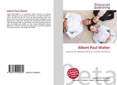 Buchcover von Albert Paul Walter