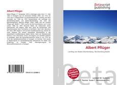Albert Pflüger的封面