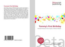 Bookcover of Tommy's First Birthday