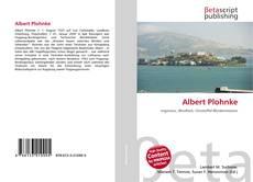 Bookcover of Albert Plohnke