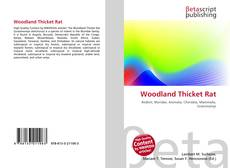 Bookcover of Woodland Thicket Rat