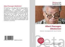 Portada del libro de Albert Poensgen (Mediziner)