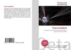 Bookcover of Yvon Lambert