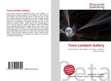 Bookcover of Yvon Lambert Gallery