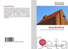 Bookcover of Burg Bachberg