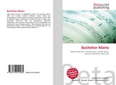 Bachchor Mainz的封面
