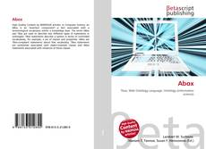 Bookcover of Abox