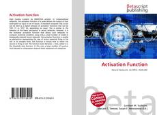 Bookcover of Activation Function