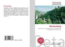 Buchcover von Bachenberg