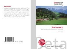 Bacherloch kitap kapağı