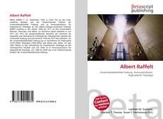 Buchcover von Albert Raffelt