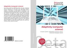 Bookcover of Adaptivity (computer science)