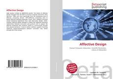Bookcover of Affective Design