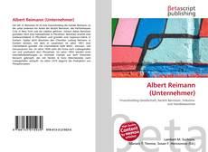 Buchcover von Albert Reimann (Unternehmer)